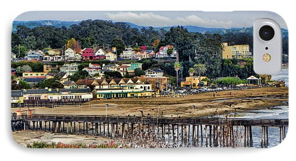 IPhone Case featuring the photograph California Coastal Town by Kathy Churchman