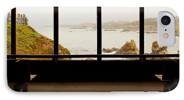 Coastal Viewed From A Shed At Mendocino IPhone Case