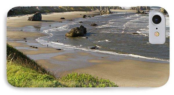 Coastal Views, Bandon, Oregon IPhone Case by William Sutton