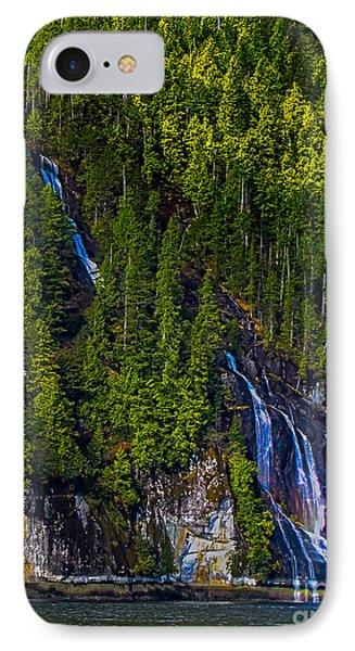 Coastal Waterfall Phone Case by Robert Bales