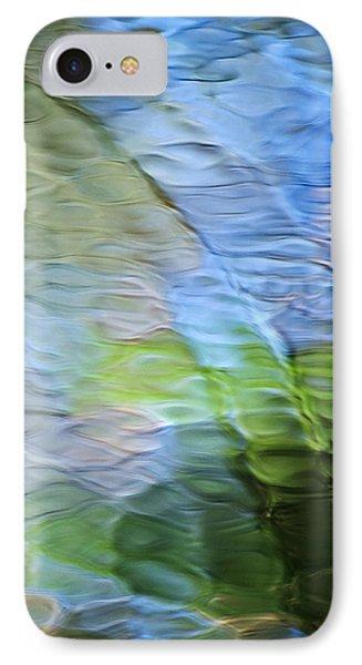 Coastline Mosaic Abstract Art Phone Case by Christina Rollo