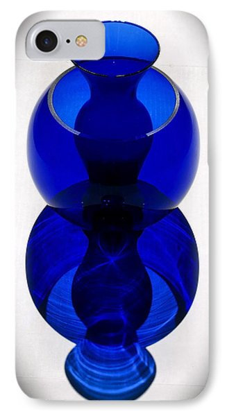 Cobalt Curves IPhone Case