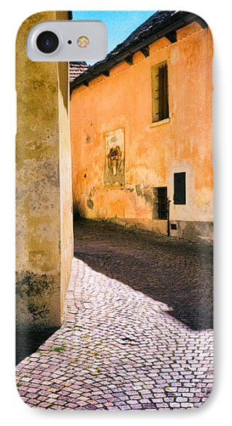 IPhone 7 Case featuring the photograph Cobbled Street by Silvia Ganora