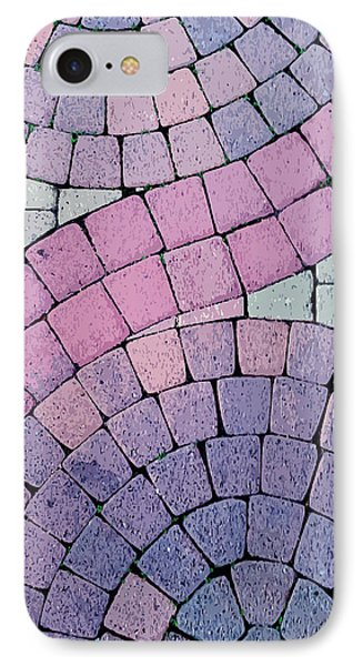 Cobblestone Abstract Phone Case by Art Block Collections