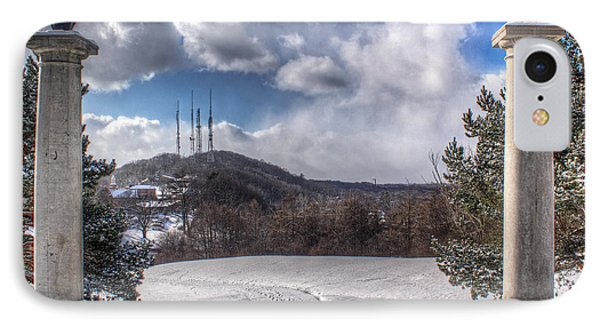 Cobbs Hill Park In Winter Phone Case by Tim Buisman