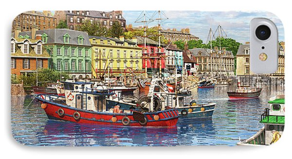 Cobh Harbour IPhone Case by Dominic Davison