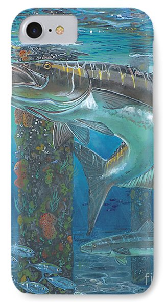 Cobia Strike In0024 IPhone 7 Case by Carey Chen