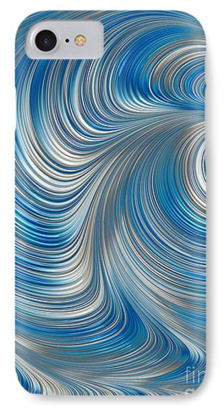 Cobolt Flow IPhone Case by John Edwards