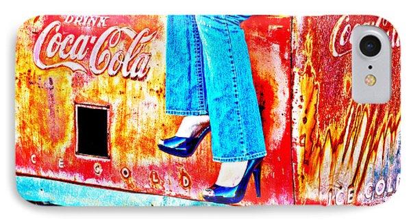 Coca-cola And Stiletto Heels IPhone Case