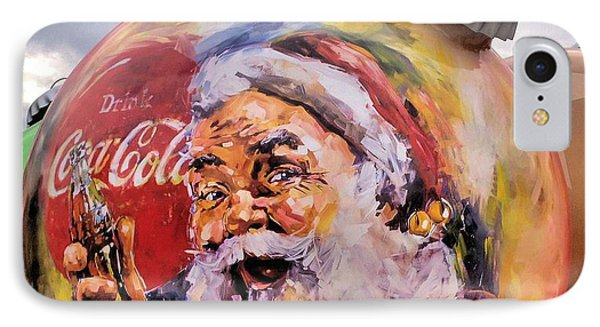 Coca Cola Christmas Bulbs Phone Case by Dan Sproul