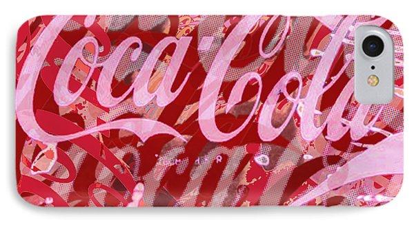 Coca-cola Collage Phone Case by Tony Rubino
