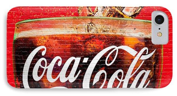 Coca Cola IPhone Case by Luciano Mortula