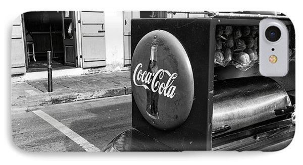 Coca Cola On Bourbon Street Mono IPhone Case