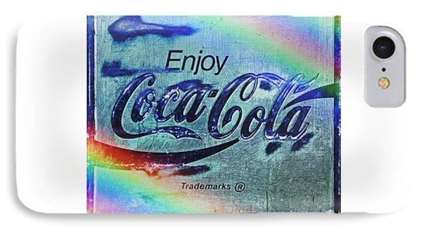 Coca Cola Rainbow IPhone Case by John Stephens