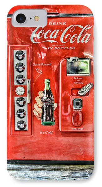 Coca-cola Retro Style IPhone Case by Paul Ward