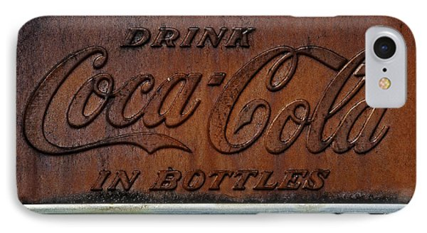 Coca-cola Sign IPhone Case by Andy Crawford
