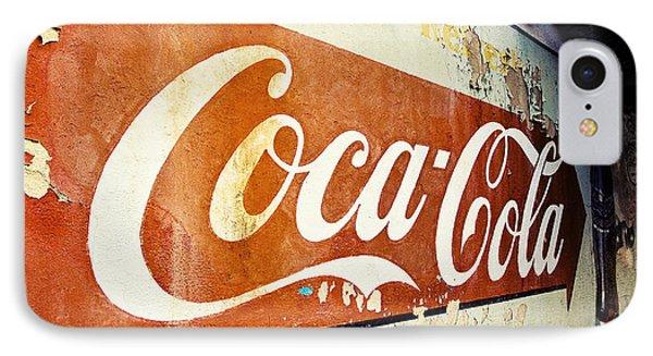 Coca Cola Sign  Phone Case by Scott Pellegrin