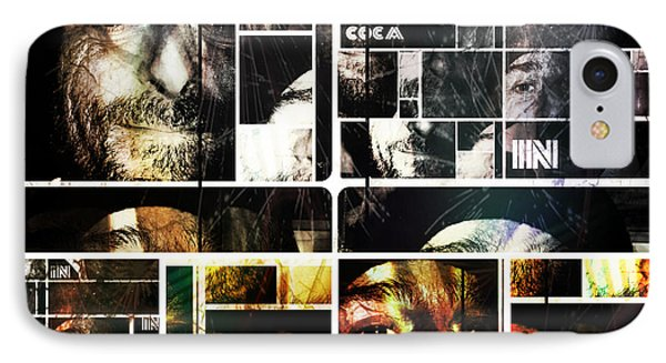 IPhone Case featuring the photograph Coca In Part 5 Collage  by Sir Josef - Social Critic - ART