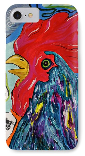 Cock-a-doodle-do IPhone Case