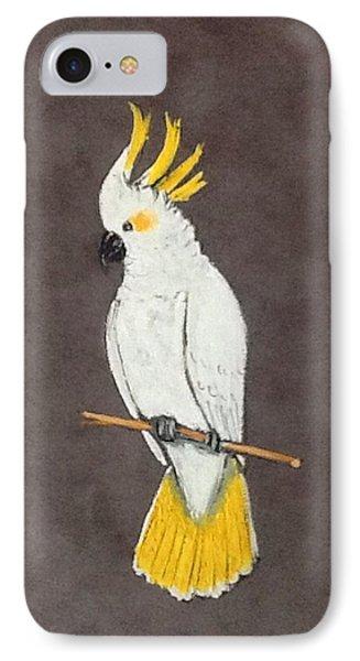 Cockatoo IPhone Case by Catherine Swerediuk