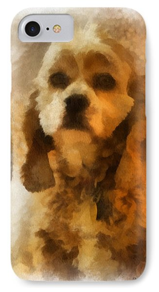 Cocker Spaniel Photo Art 04 Phone Case by Thomas Woolworth