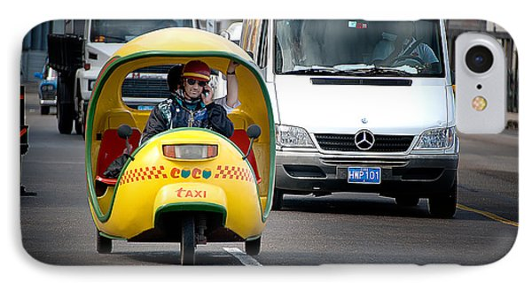 Coco Taxi IPhone Case by Patrick Boening