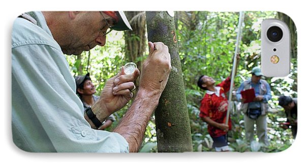 Cocoa Tree Pathogen Research IPhone Case by Agricultural Research Service/us Department Of Agriculture