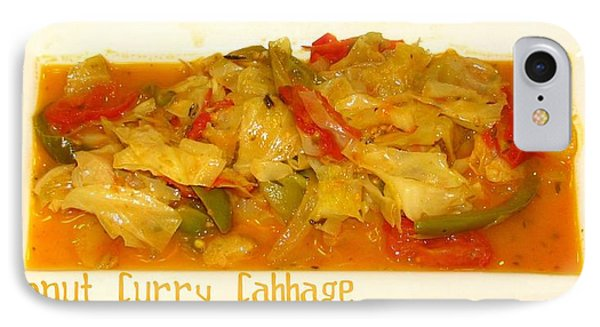 Coconut Curry Cabbage IPhone Case