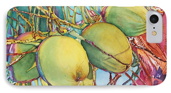 Coconuts At Sunset IPhone Case