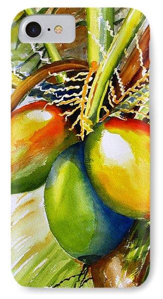 Coconuts IPhone Case by Carlin Blahnik