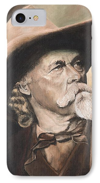 Cody - Western Gentleman IPhone Case by Mary Ellen Anderson
