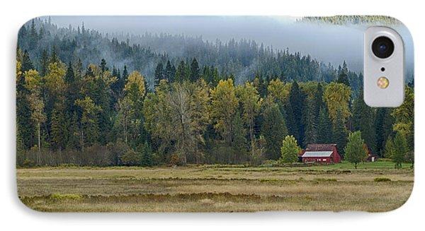 Coeur D Alene River Farm Phone Case by Idaho Scenic Images Linda Lantzy