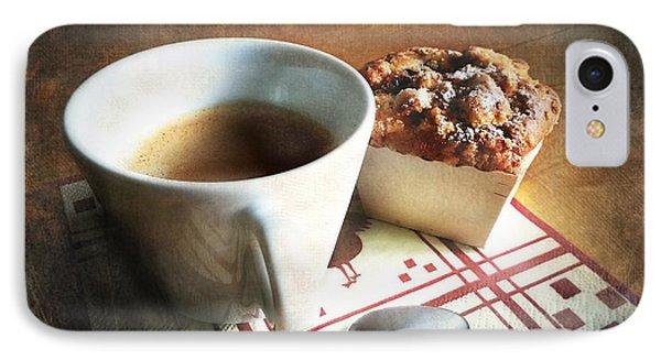 Coffee And Muffin Phone Case by Barbara Orenya
