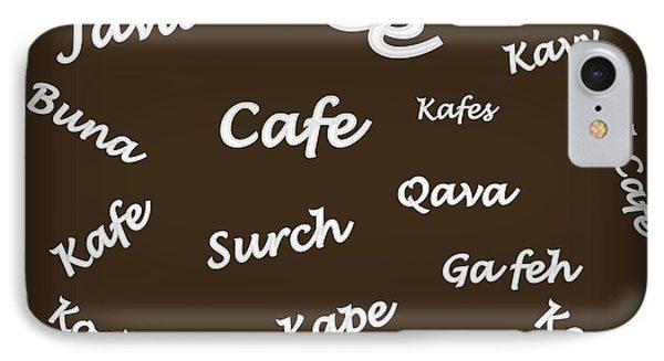 Coffee Around The World IPhone Case