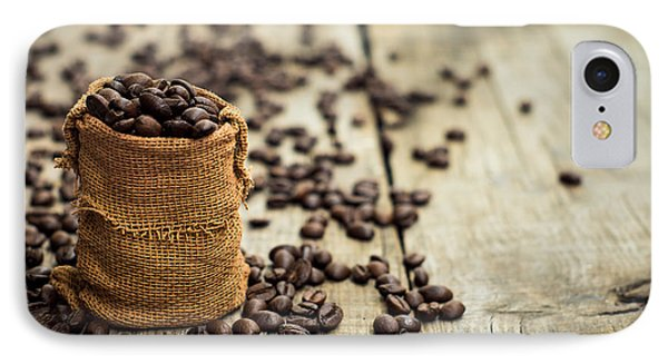 Coffee Beans Phone Case by Aged Pixel