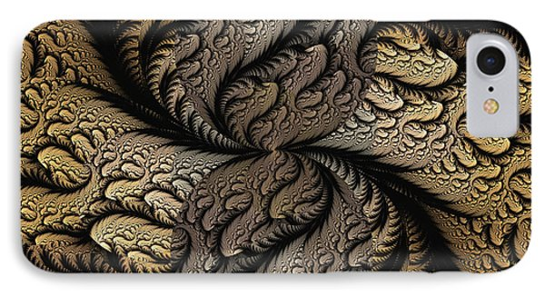 IPhone Case featuring the digital art Coffee Beans by Lea Wiggins
