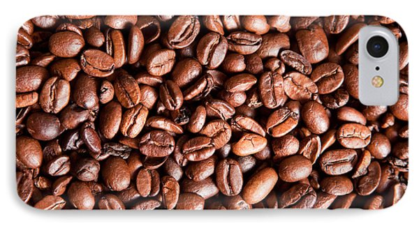 Coffee Beans  Phone Case by Sharon Dominick