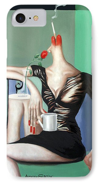 Coffee Break IPhone Case by Anthony Falbo