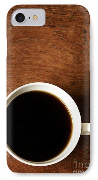 Coffee Break IPhone Case by Birgit Tyrrell