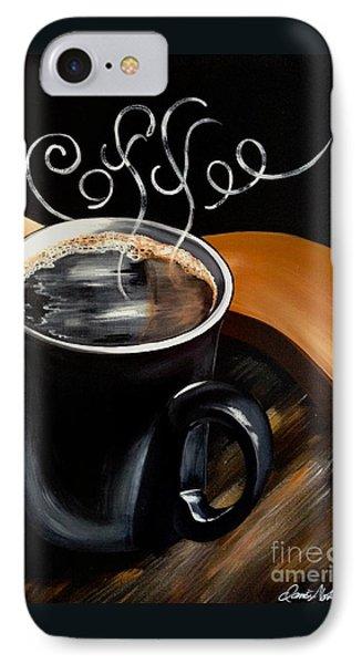 Coffee Break IPhone Case by Dani Abbott
