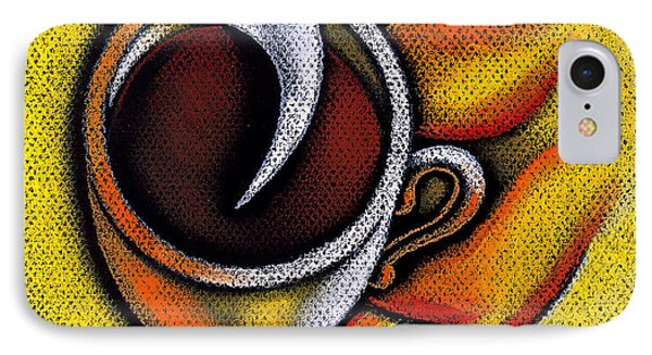 Coffee Cup  IPhone Case by Leon Zernitsky