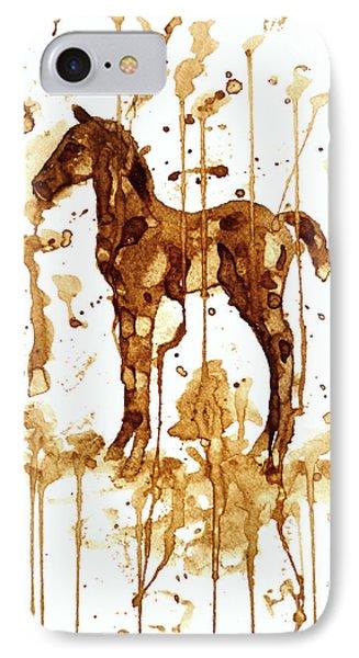 Coffee Foal Phone Case by Zaira Dzhaubaeva