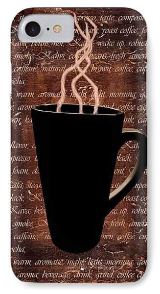 Coffee Time IPhone Case by Barbara St Jean