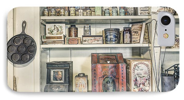 Coffee Tobacco And Spice - On The Shelves At A 19th Century General Store Phone Case by Gary Heller