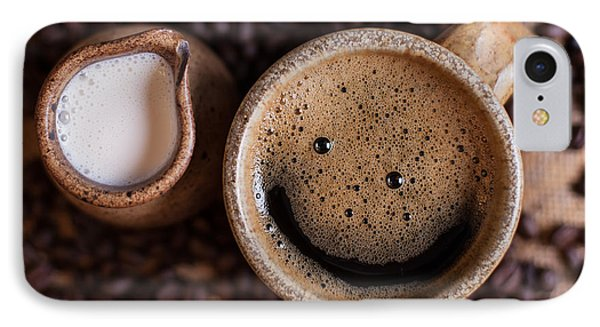 Coffee With A Smile IPhone Case by Aaron Aldrich