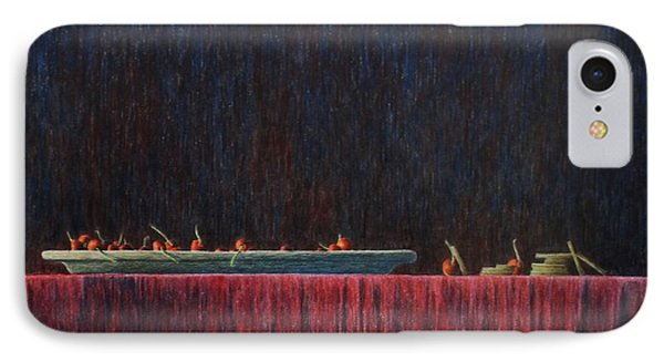 IPhone Case featuring the painting Coffer by A  Robert Malcom