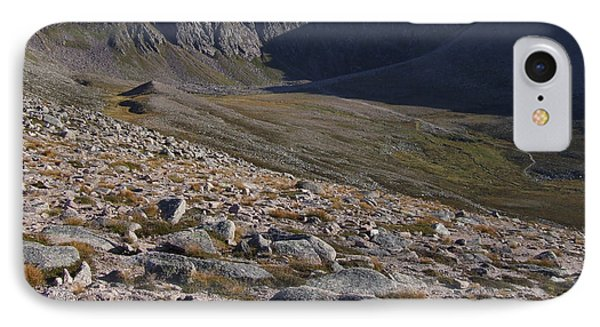 Coire An T' Sneachda - Cairngorm Mountains IPhone Case by Phil Banks