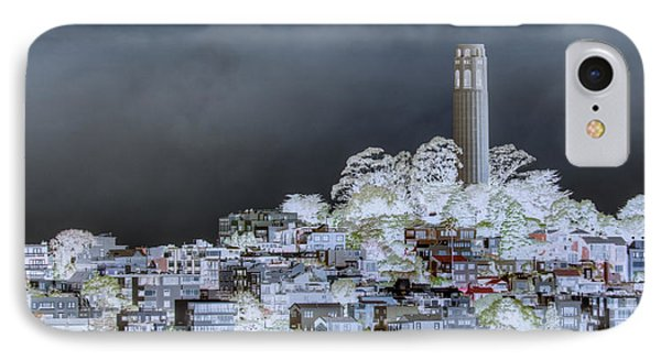 Coit Tower Surreal Phone Case by Diego Re