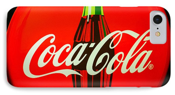 Coke Top IPhone Case by Tikvah's Hope