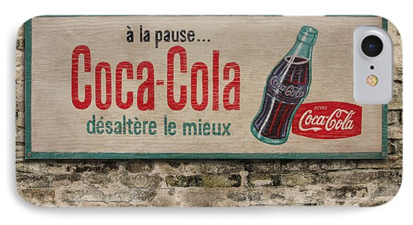 Cola Sign Phone Case by Bill Jonas